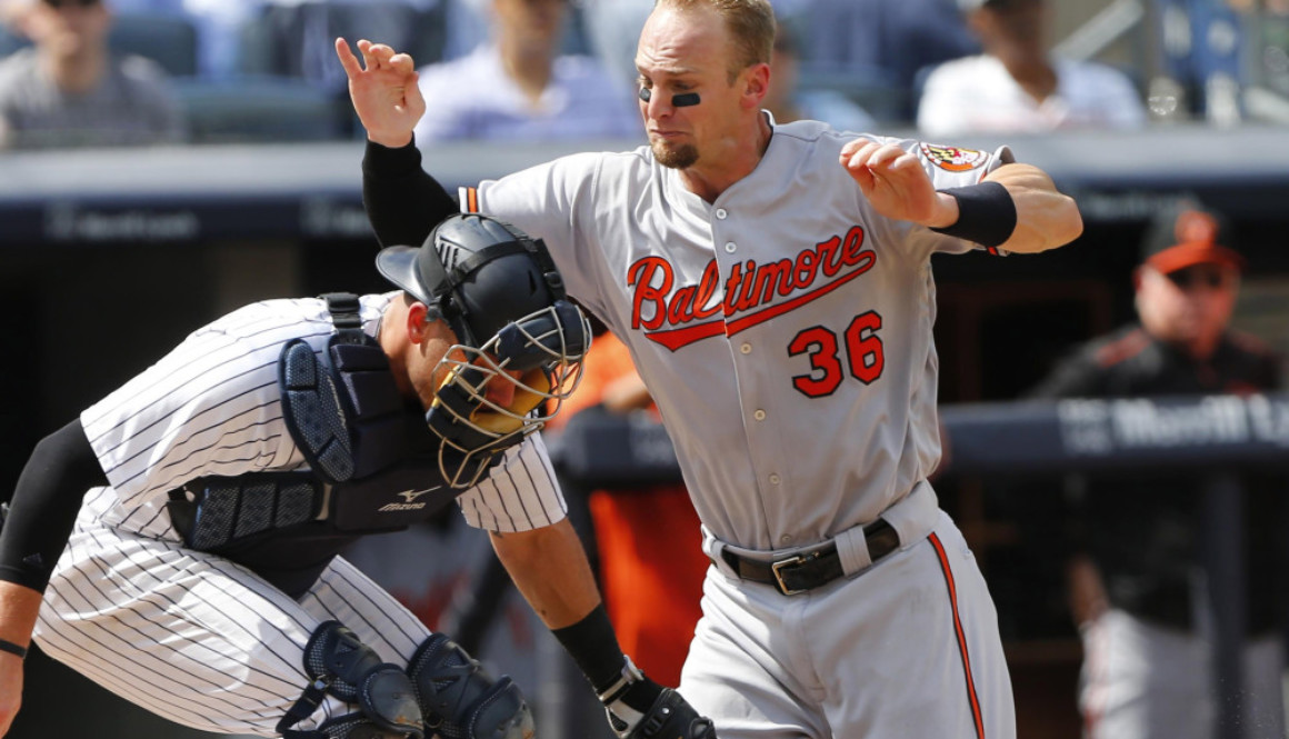 USP MLB: BALTIMORE ORIOLES AT NEW YORK YANKEES S BBA NYY BAL USA NY