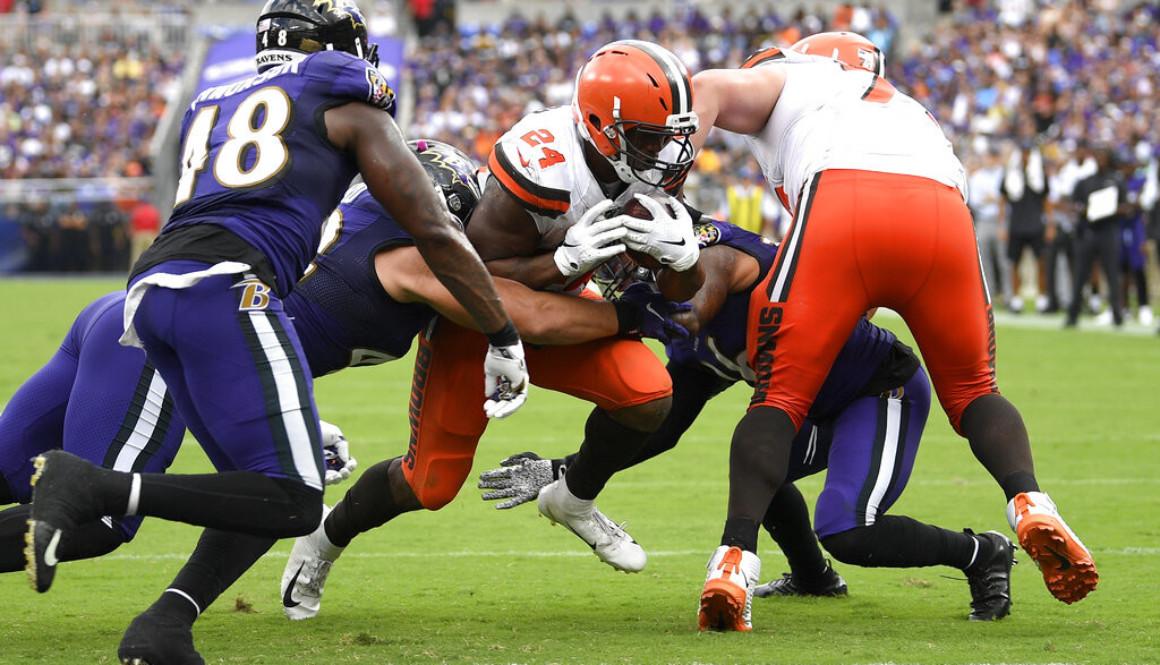 Browns Ravens Football