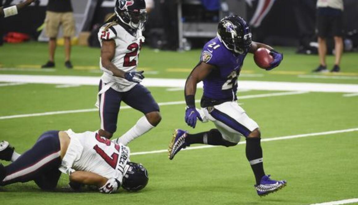 Ravens Texans Football