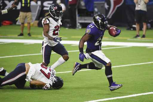 Ravens Texans Football